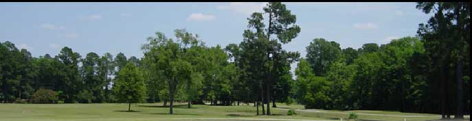 Panorama photo of the course
